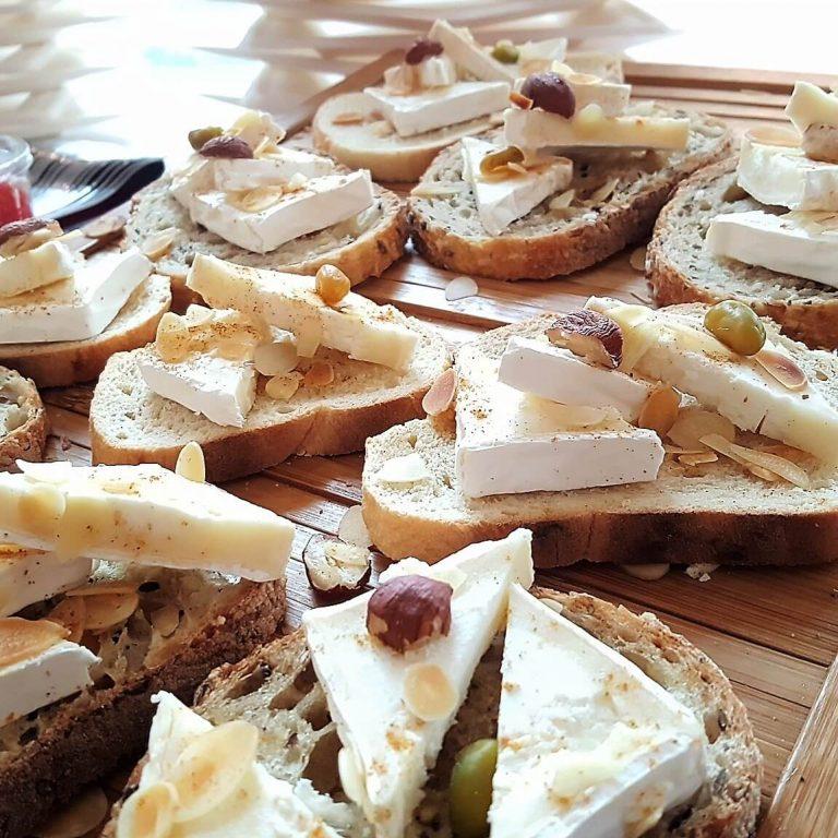 Rive Gauche Reception buffet