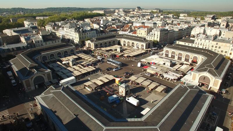 RGR, organisateur événement Paris et Versailles, le circuit court au marché Notre Dame