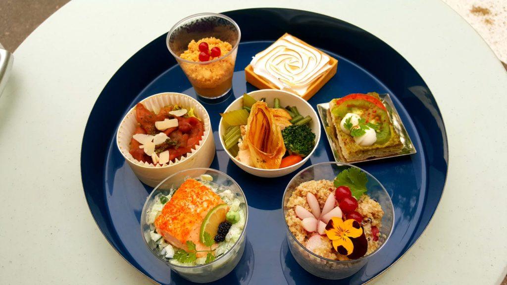 RGR, traiteur événement Versailles, portions individuelles finger food