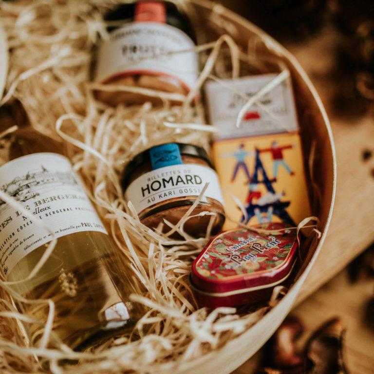 Le cadeau idéal, en livraison, un coffret gourmand RG Gourmet
